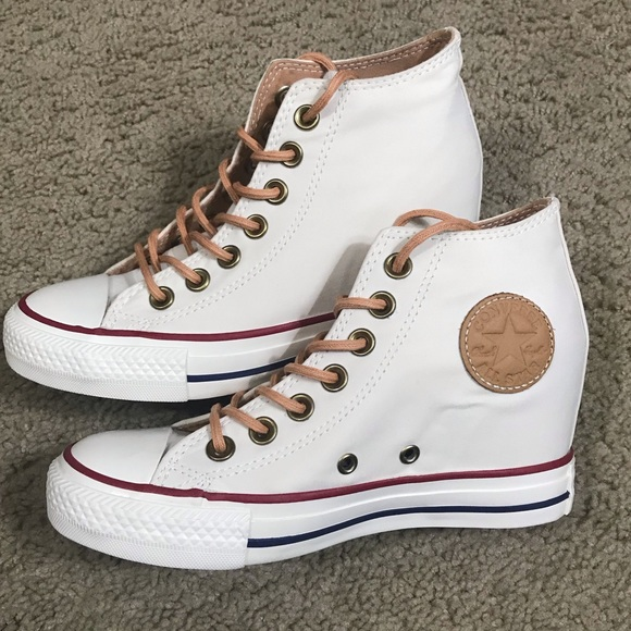 Converse Lux Mid Wedge Sneakers